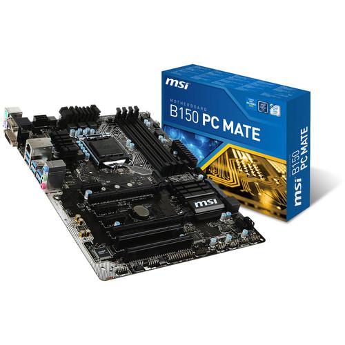 MSI B150 PC Mate ATX Motherboard