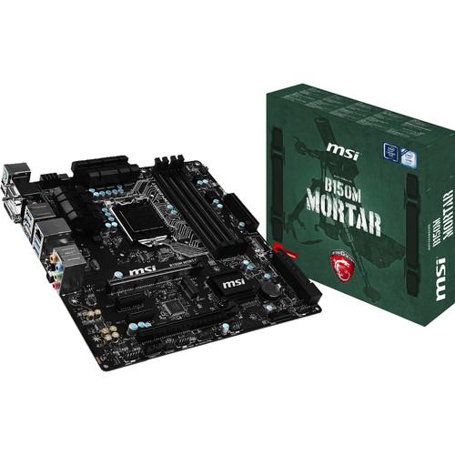 MSI B150M Mortar Arsenal Gaming Series LGA 1151 Micro-ATX Motherboard