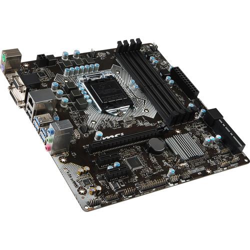 MSI B150M PRO-VDH LGA 1151 Micro-ATX Motherboard