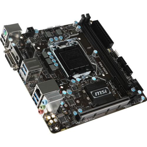 MSI B250 Pro LGA1151 Mini ITX Motherboard