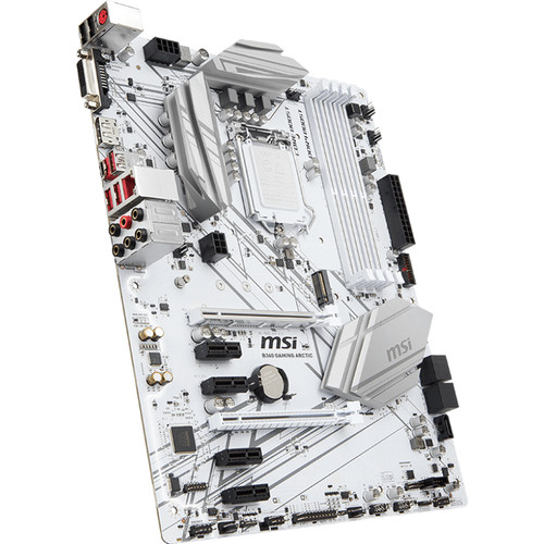 MSI B360 Gaming Arctic LGA 1151 ATX Motherboard