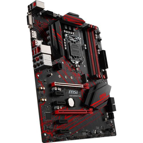 MSI B360 Gaming Plus LGA1151 ATX Motherboard