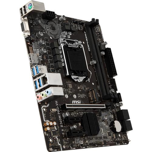 MSI B360M Pro-VH LGA 1151 Micro-ATX Motherboard