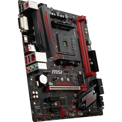 MSI B450M Gaming Plus AM4 Micro-ATX Motherboard