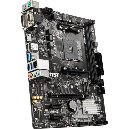MSI B450M PRO-M2 MAX mATX Motherboard