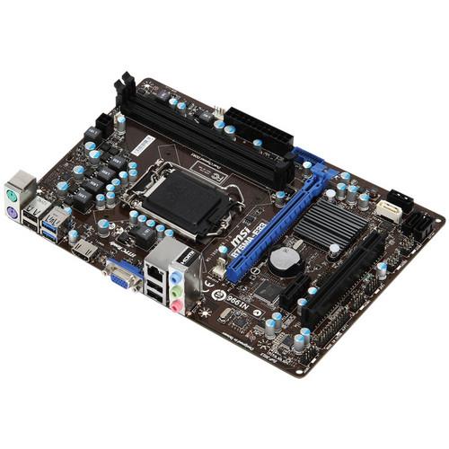 MSI B75MA-E33 Series Desktop Motherboard
