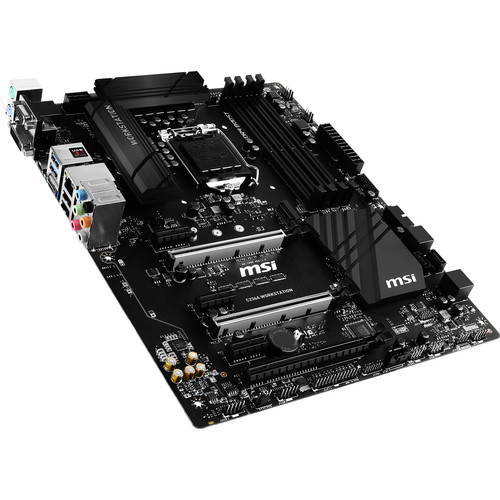 MSI C236A Workstation LGA 1151 ATX Motherboard