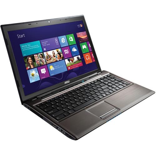 "MSI CX61 2PC-499US 15.6"" Laptop Computer (Gray)"