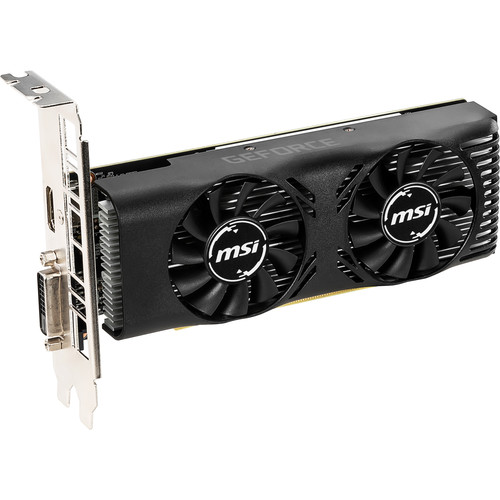 MSI GeForce GTX 1650 4GT Low-Profile Graphics Card