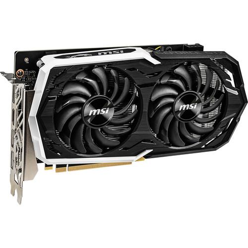 MSI GeForce GTX 1660 ARMOR OC Graphics Card