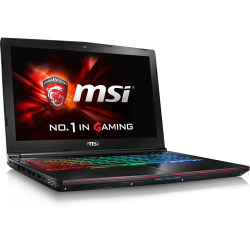"MSI 15.6"" GE62VR Apache Pro Notebook"