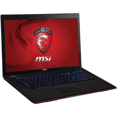 "MSI GE70 2OE-017US 17.3"" Gaming Notebook Computer (Black & Red)"
