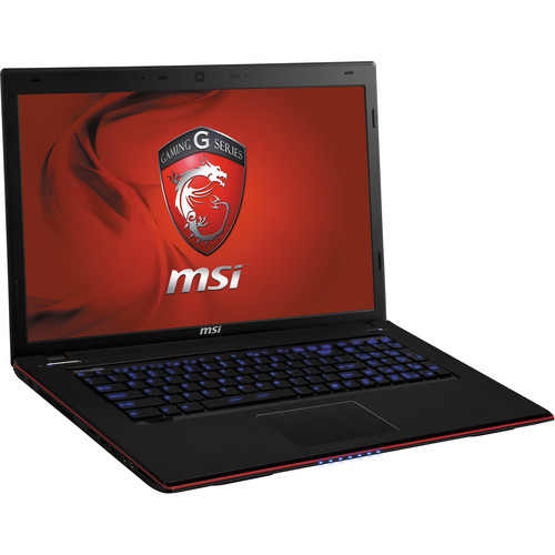 "MSI GE70 2OE-071US 17.3"" Notebook Computer (Black & Red)"