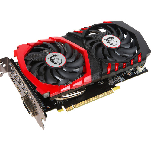 MSI GeForce GTX 1050 GAMING X 2G Graphics Card