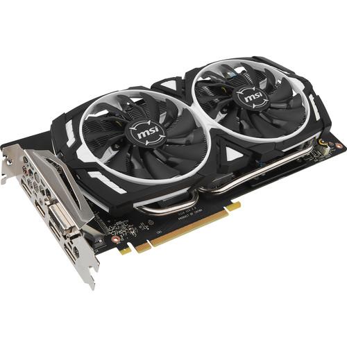 MSI GeForce GTX 1060 ARMOR 6G OC Graphics Card