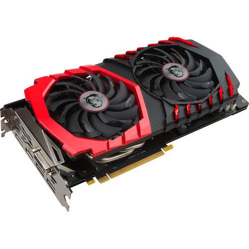 MSI GeForce GTX 1060 GAMING X+ 6G Graphics Card