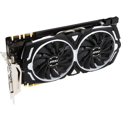 MSI GeForce GTX 1070 Ti ARMOR 8G Graphics Card