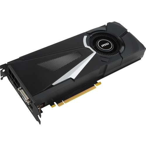 MSI GeForce GTX 1080 AERO 8G OC Graphics Card