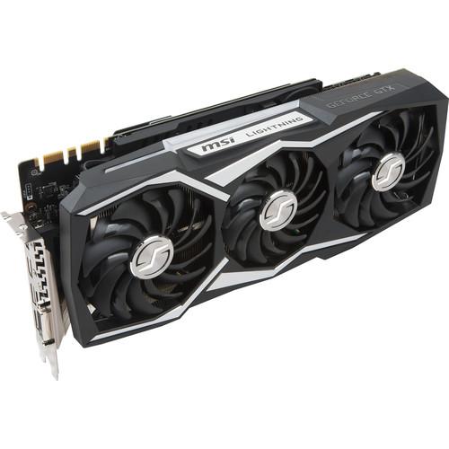 MSI GeForce GTX 1080 Ti LIGHTNING X Graphics Card