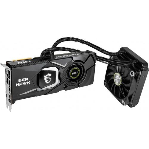 MSI GeForce RTX 2080 Ti SEA HAWK X Graphics Card