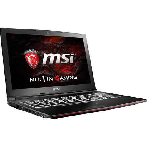"MSI 15.6"" GP62MVR Leopard Pro Notebook"