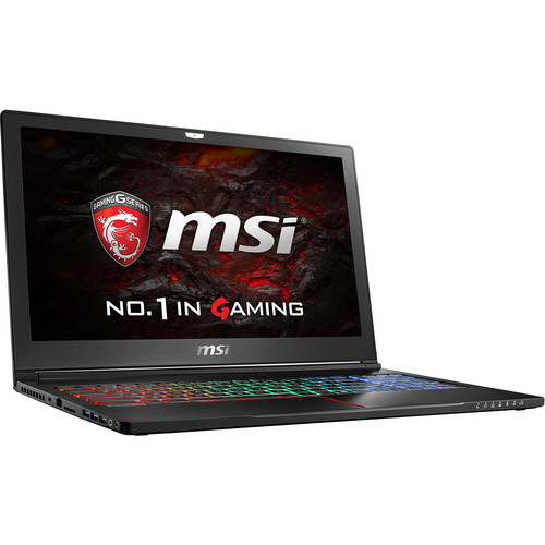 "MSI 15.6"" GS63VR Stealth Pro Notebook"