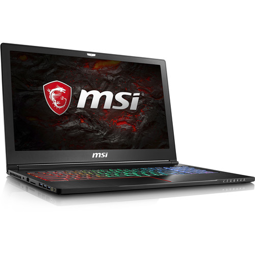 "MSI 15.6"" GS63VR Stealth Pro 4K Notebook"