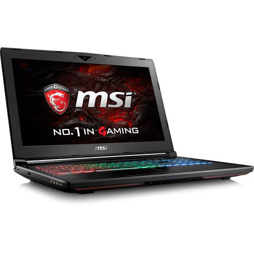 "MSI 15.6"" GT62VR Dominator Notebook"