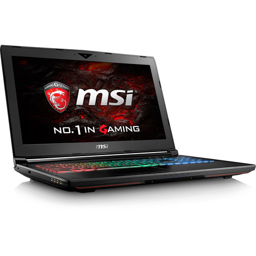 "MSI 15.6"" GT62VR Dominator Notebook"