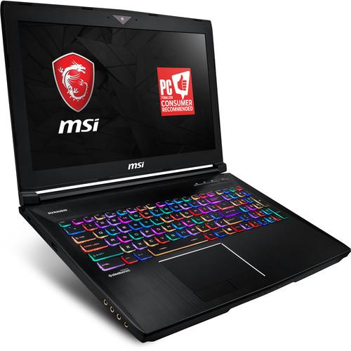 "MSI 15.6"" GT63 Titan 4K Notebook"