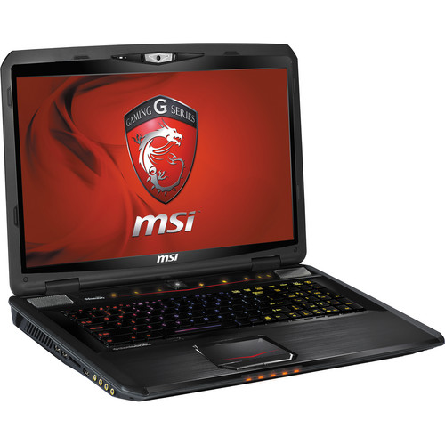 "MSI GT70 2OD-019US 17.3"" Gaming Notebook Computer (Black)"