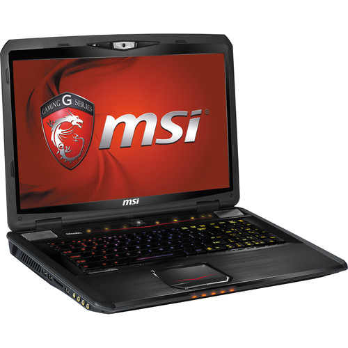 "MSI GT70 Dominator-894 17.3"" Gaming Notebook Computer (Aluminum Black)"