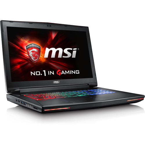 "MSI 17.3"" GT72 Dominator G Gaming Notebook (Aluminum Black)"