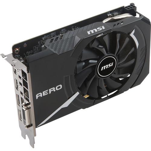 MSI GeForce GTX 1060 AERO ITX 3G OC Graphics Card