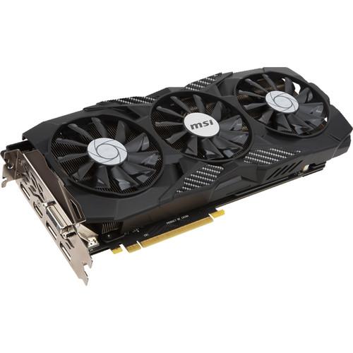 MSI GeForce GTX 1080 DUKE 8G OC Graphics Card