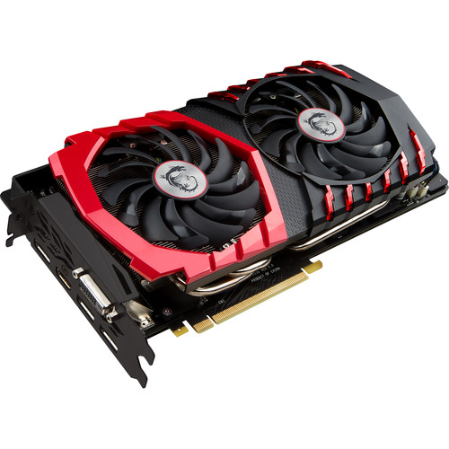 MSI GeForce GTX 1080 GAMING X 8G Graphics Card