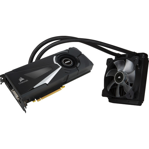 MSI GeForce GTX 1080 SEA HAWK X Graphics Card