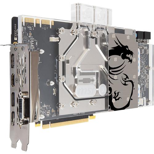 MSI GeForce GTX 1080 SEA HAWK EK X Graphics Card