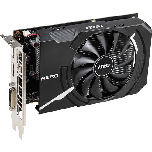 MSI GeForce GTX 1650 AERO ITX OC Graphics Card