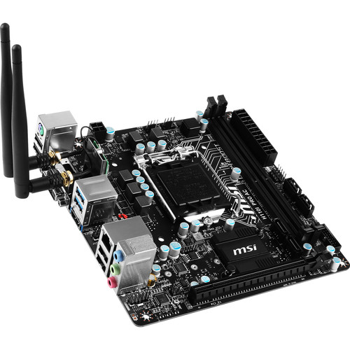 MSI H110I PRO AC LGA 1151 Mini-ITX Motherboard