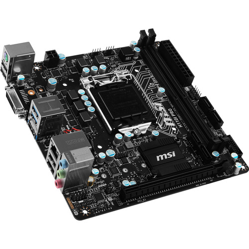 MSI H110I PRO LGA 1151 Mini-ITX Motherboard