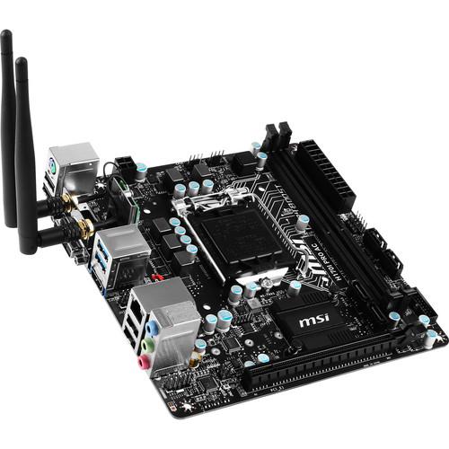 MSI H170I Pro AC LGA1151 Mini-ITX Motherboard