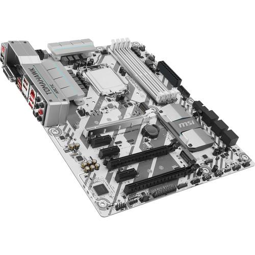 MSI H270 Tomahawk Arctic LGA1151 ATX Motherboard