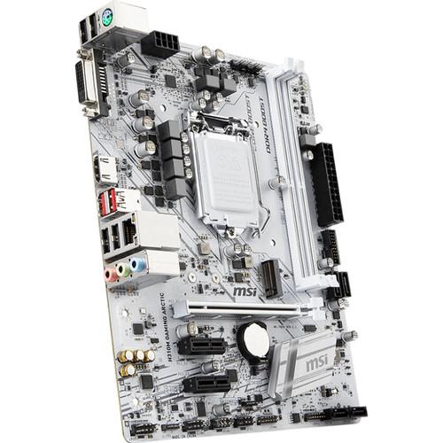 MSI H310M Gaming Arctic LGA 1151 Micro-ATX Motherboard