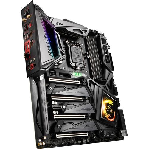 MSI MEG Z390 GODLIKE LGA 1151 E-ATX Motherboard