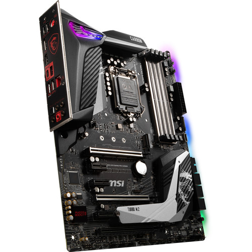 MSI MPG Z390 GAMING PRO CARBON LGA 1151 ATX Motherboard