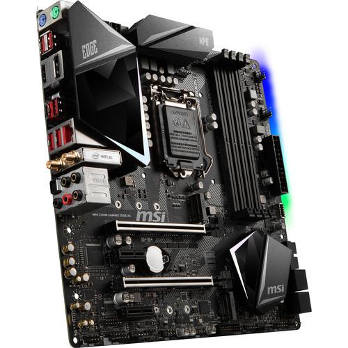 MSI MPG Z390M GAMING EDGE AC LGA 1151 Micro-ATX Motherboard