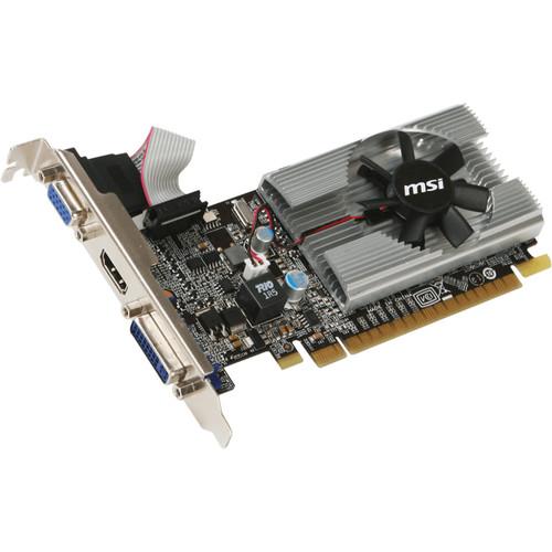 MSI GeForce 210 N210 Graphics Card