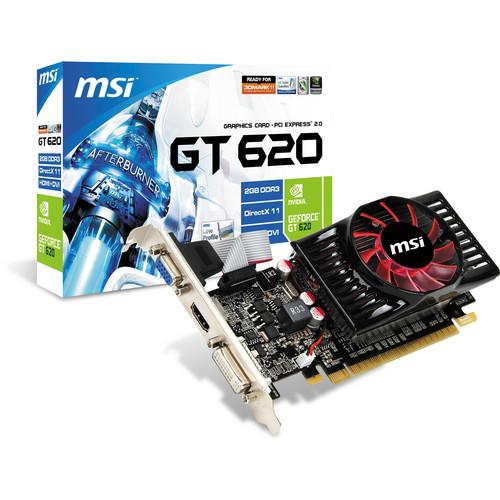 MSI GeForce GT 620 Graphics Card (1GB DDR3)