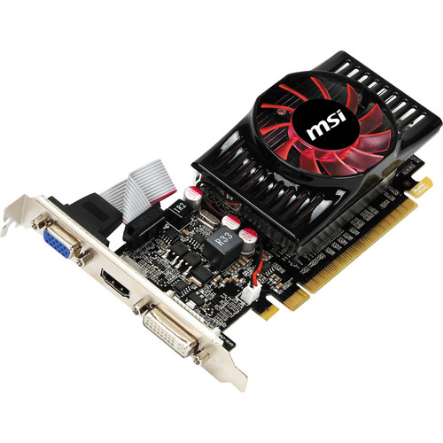 MSI GeForce GT 620 Graphics Card (2GB DDR3)